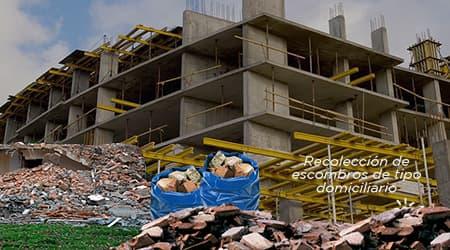 Recolección de Escombros